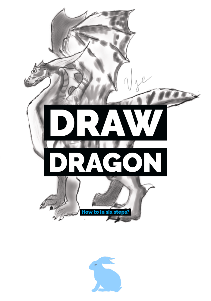 Draw Dragon: How to in six steps?