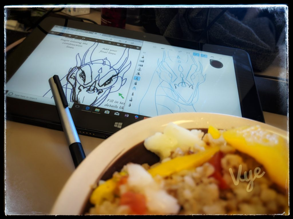 Nest Dragon During Lunch