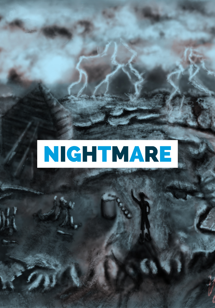 Nightmare Dronstad: How to draw?