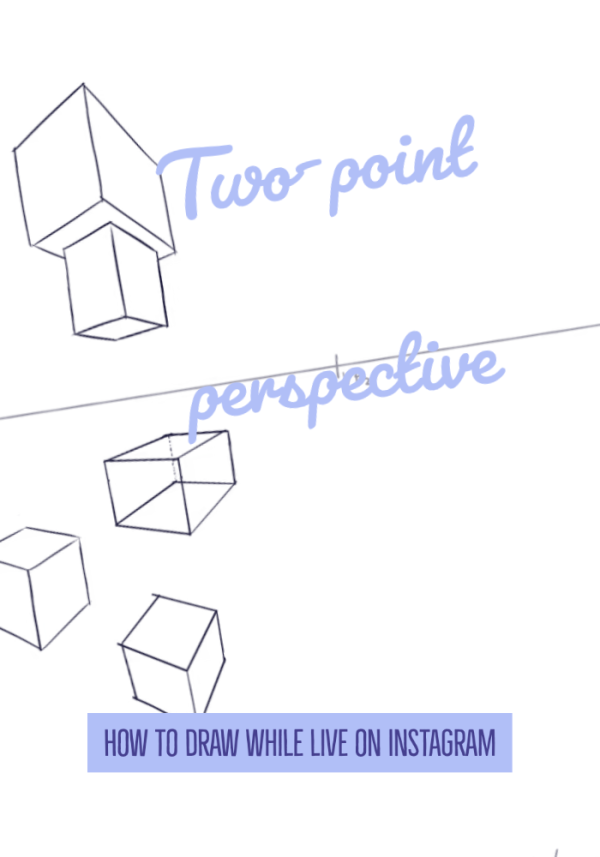 how to draw in two point perspective feature