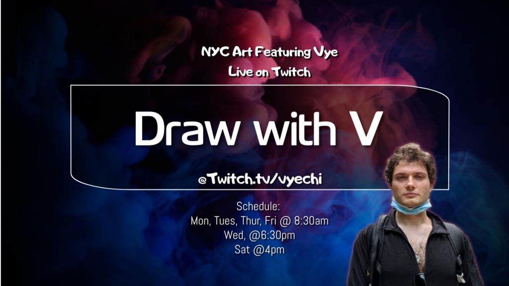 Doodle 110 Draw with Vyechi on Twitch
